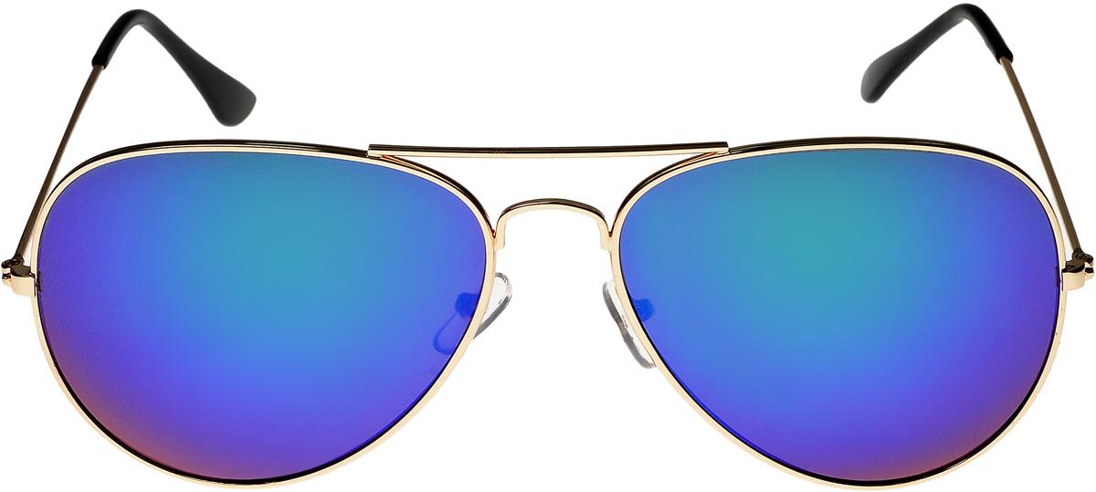 Очки солнцезащитные Vittorio Richi, цвет: золотистый, сиреневый. ОС3028/17fTL-49--RBОчки солнцезащитные Vittorio Richi это знаменитое итальянское качество и традиционно изысканный дизайн.