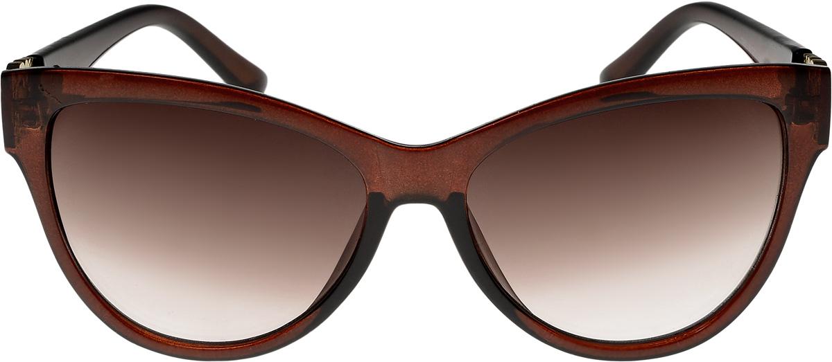 Очки солнцезащитные женские Vittorio Richi, цвет: коричневый. ОС1959с2/17f632.067.02 D.BrownОчки солнцезащитные Vittorio Richi это знаменитое итальянское качество и традиционно изысканный дизайн.
