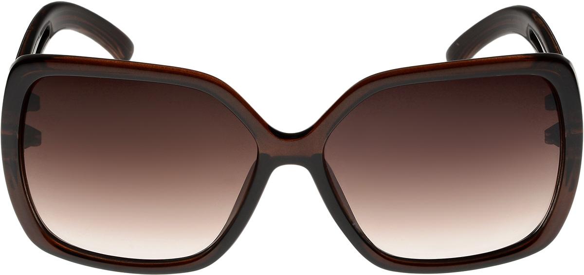Очки солнцезащитные женские Vittorio Richi, цвет: коричневый. ОС4136c320-477-1/17fОС4136c320-477-1/17fОчки солнцезащитные Vittorio Richi это знаменитое итальянское качество и традиционно изысканный дизайн.