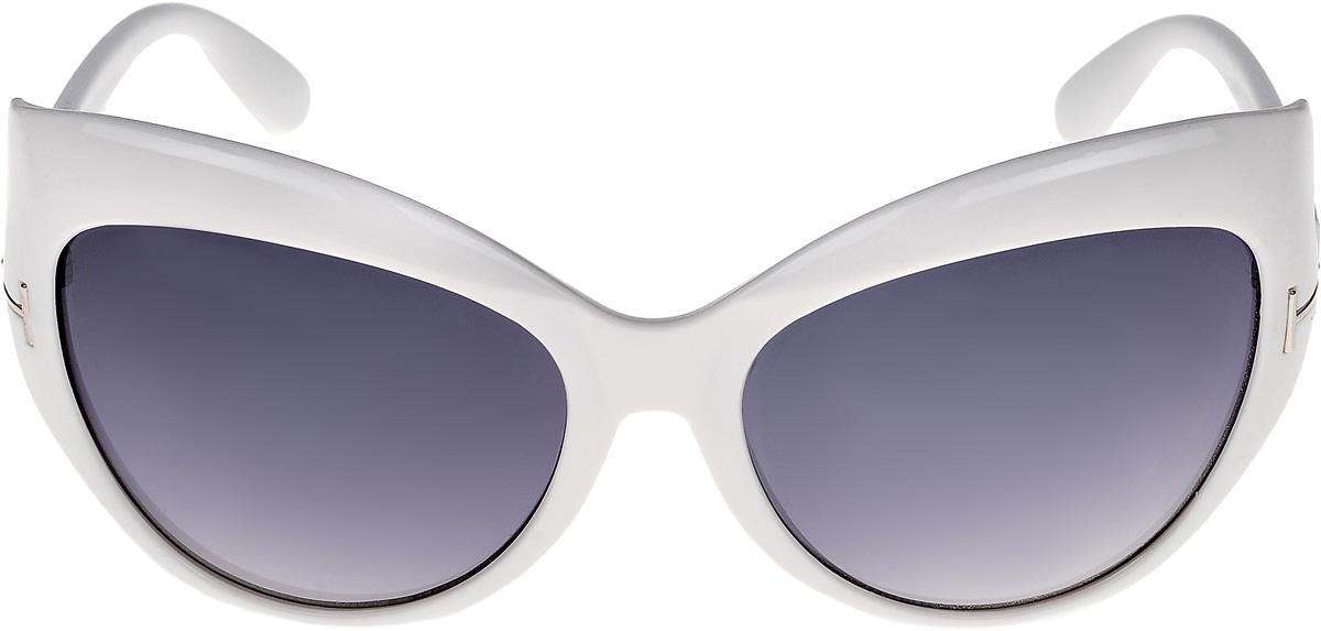 Очки солнцезащитные женские Vittorio Richi, цвет: белый. ОС1243/17fBM8434-58AEОчки солнцезащитные Vittorio Richi это знаменитое итальянское качество и традиционно изысканный дизайн.