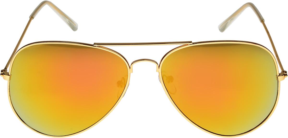 Очки солнцезащитные женские Vittorio Richi, цвет: золотистый. ОС3028/17fTL-49-SCОчки солнцезащитные Vittorio Richi это знаменитое итальянское качество и традиционно изысканный дизайн.