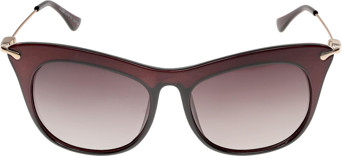 Очки солнцезащитные женские Vittorio Richi, цвет: коричневый. ОС3000с320-87-37/17fFM-883-JSKОчки солнцезащитные Vittorio Richi это знаменитое итальянское качество и традиционно изысканный дизайн.