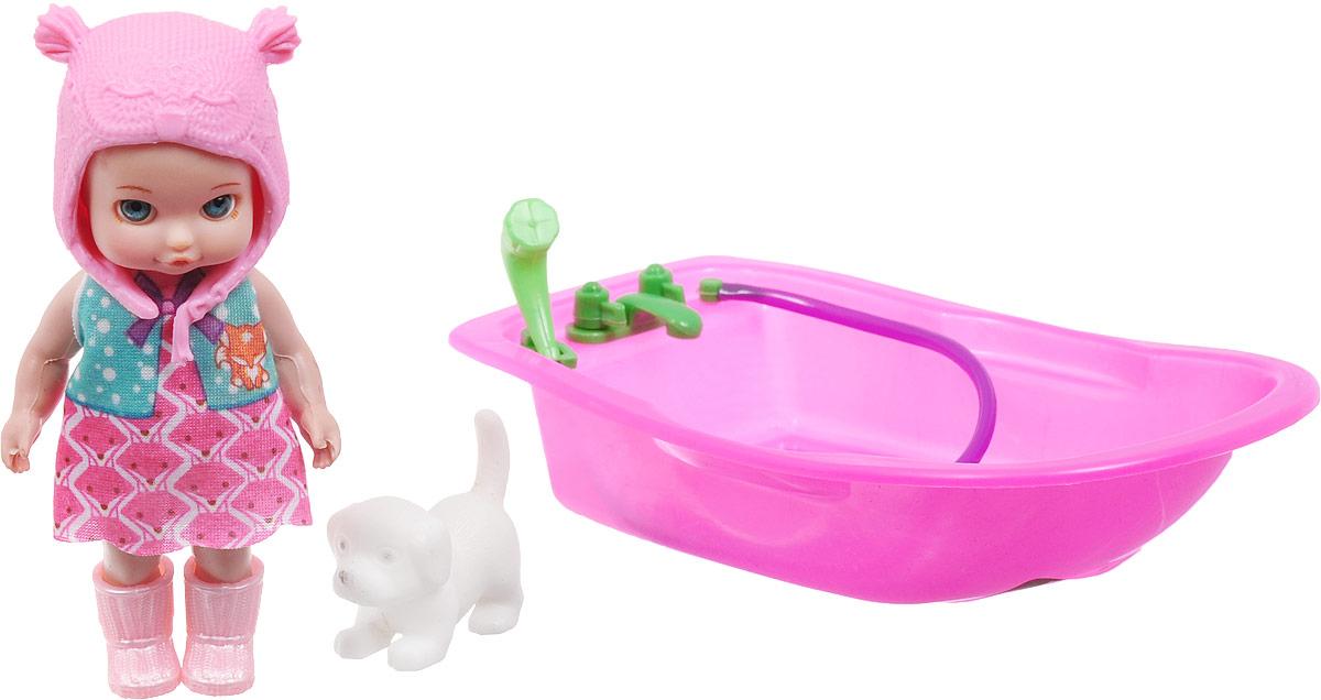 Veld-Co Пупс с ванночкой Изабелла veld co бубен и металлофон