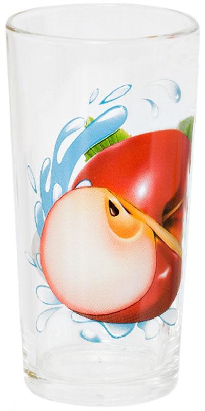 Стакан OSZ Ода. Яблоко красное, 230 мл05C1256-YKKСтакан ОДА ЯБЛОКО КРАСНОЕ К 230мл высокий.Изготовлено из стекла.