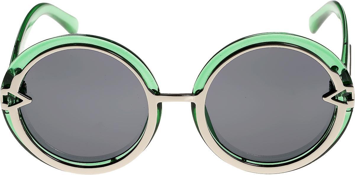 Очки солнцезащитные женские Vita Pelle, цвет: зеленый. ОС1085с8/17fFM-883-MSKОчки солнцезащитные Vita Pelle это знаменитое итальянское качество и традиционно изысканный дизайн.