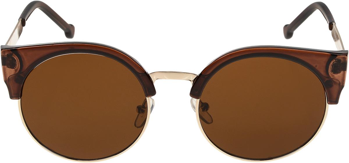 Очки солнцезащитные женские Vittorio Richi, цвет: коричневый. ОС6702с2/17fОС6702с2/17fОчки солнцезащитные Vittorio Richi это знаменитое итальянское качество и традиционно изысканный дизайн.