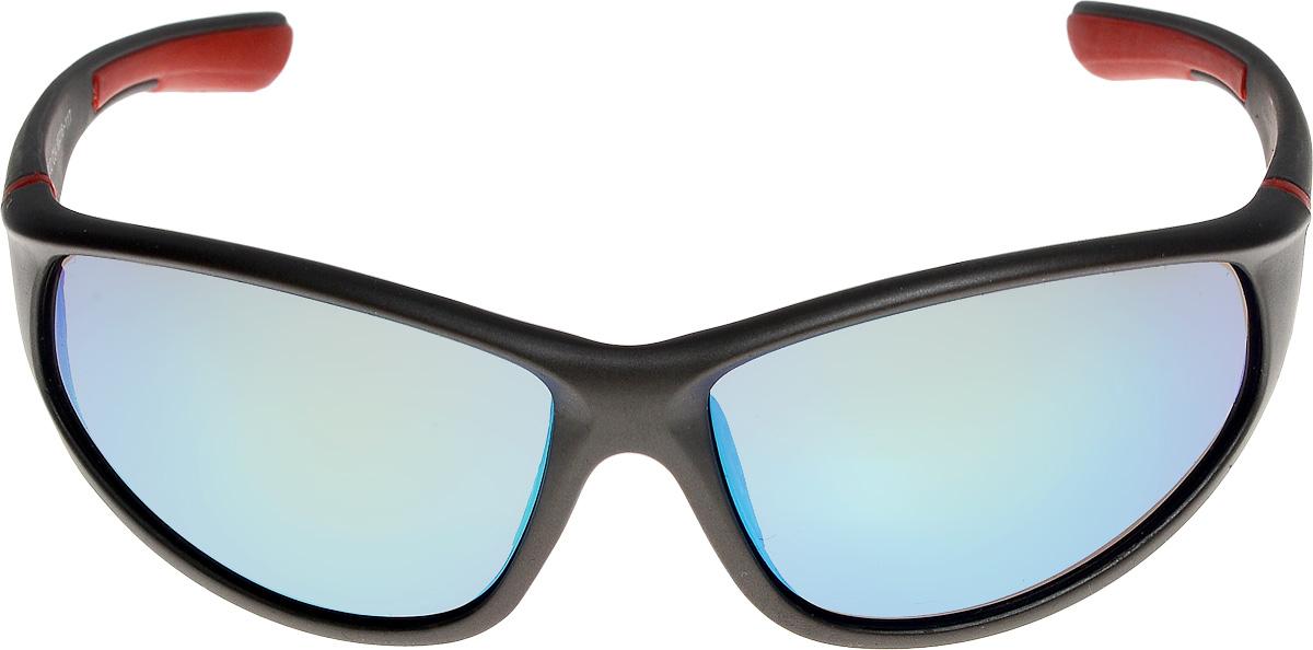 Очки солнцезащитные мужские Vita Pelle, цвет: черный, красный. ОС9002с04/17fFM-550-ASОчки солнцезащитные Vita Pelle это знаменитое итальянское качество и традиционно изысканный дизайн.