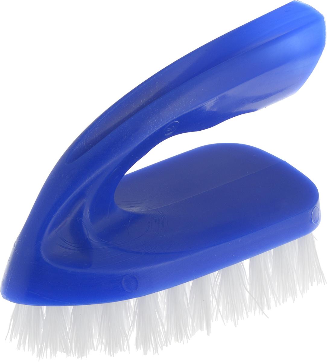"Щетка для одежды Svip ""Утюжок Миди. Классика"", цвет: синий, белый, 10 х 6 х 8,5 см SV3112СН"