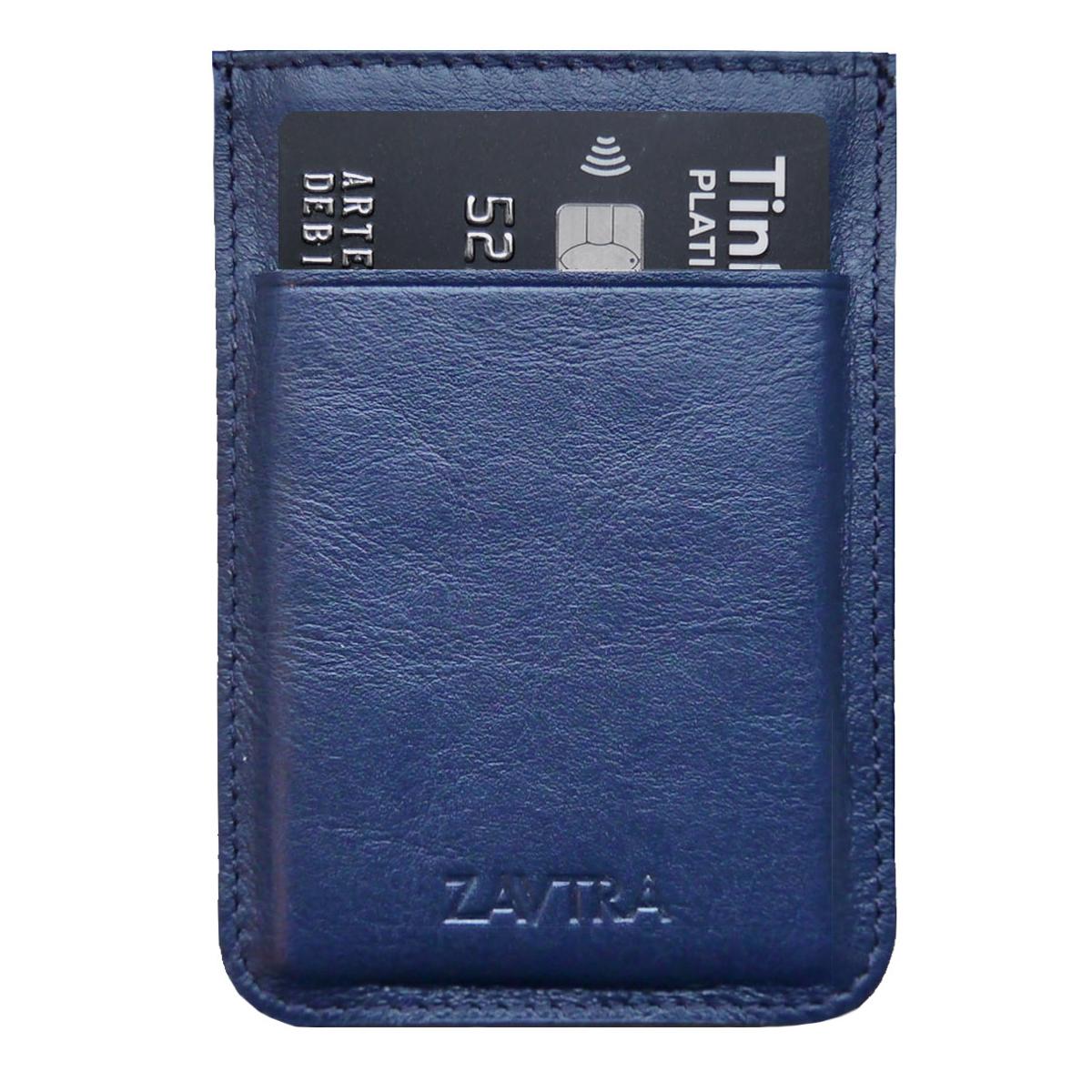 Кошелек Zavtra, цвет: темно-синий. zav01bluzav01bluКомпактный кошелек ZAVTRA, выполненный из натуральной кожи, вмещает 4-5 банковских или визитных карт, права или пропуск и имеет фиксатор для купюр.