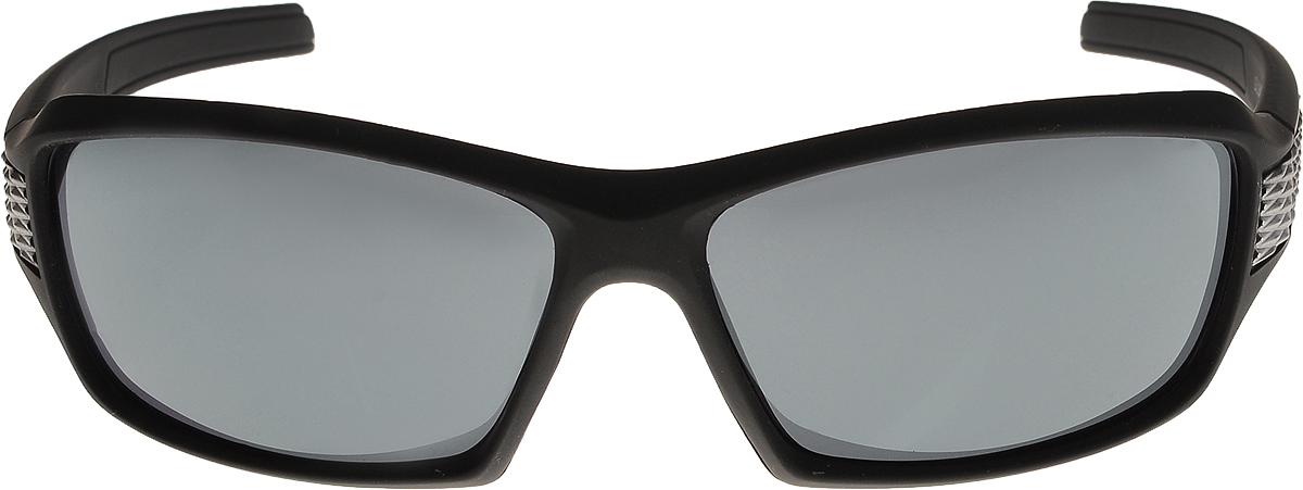 Очки солнцезащитные мужские Vittorio Richi, цвет: черный. ОС80045-1/17fINT-06501Очки солнцезащитные Vittorio Richi это знаменитое итальянское качество и традиционно изысканный дизайн.
