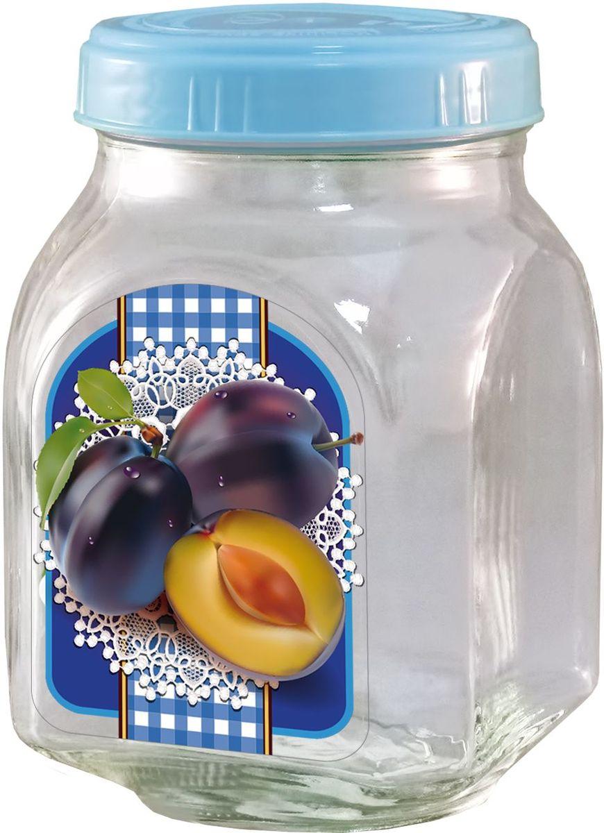Банка для хранения варенья Квестор Слива, c крышкой, 800 мл. 626-019626-019Банка из бесцветного стекла для консервированной пищевой продукции. В том числе для сыпучих пищевых продуктов.