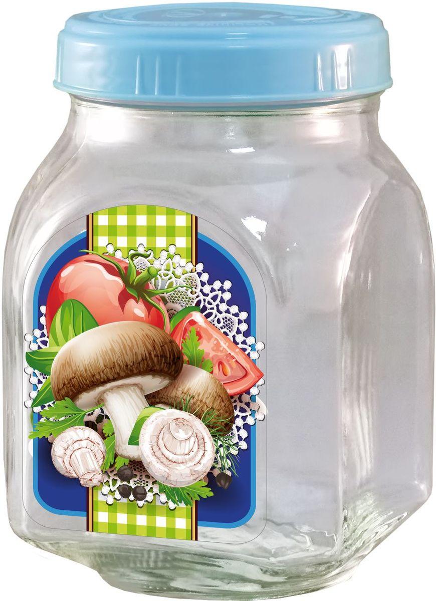 Банка для хранения Квестор, c крышкой, 800 мл. 626-031626-031Банка из бесцветного стекла для консервированной пищевой продукции. В том числе для сыпучих пищевых продуктов.