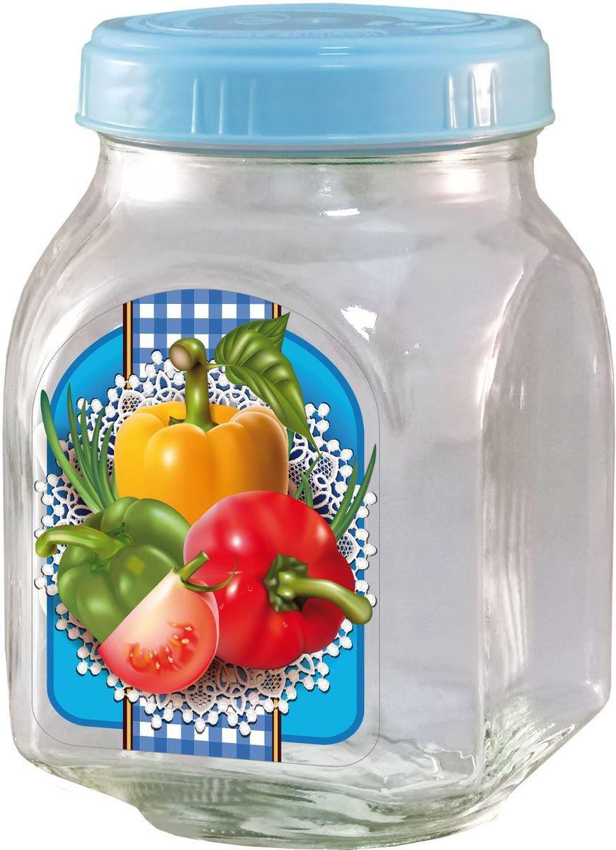 Банка для хранения Квестор, c крышкой, 800 мл. 626-033626-033Банка из бесцветного стекла для консервированной пищевой продукции. В том числе для сыпучих пищевых продуктов.