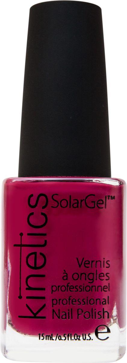 Kinetics Профессиональный лак SolarGel Polish, 15 мл, тон 1911301210Новое поколение профессиональных гелевых лаков для ногтей, которые наносятся как обычный лак, а выглядят как гель. Ультра модные и классические цвета, поражают своей стойкостью и разнообразием оттенков. Стойкость до 10 дней, не требует специальной сушки в UV/LED лампе. Рекомендуется использовать с верхним покрытием SolarGel Top Coat