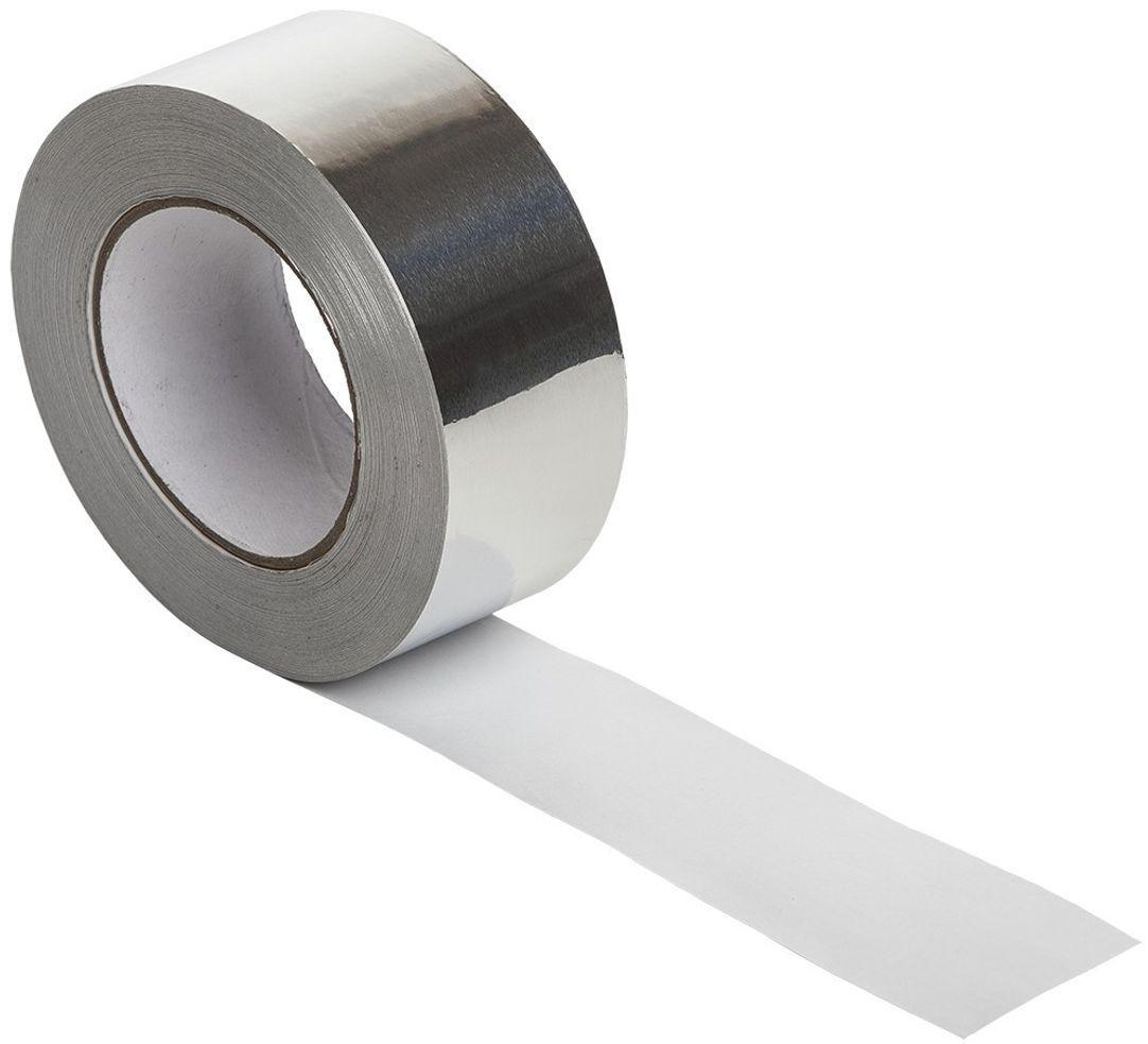 Клейкая лента MasterProf, алюминевая, цвет: серый металлик, 48 мм х 25 мHS.070030Алюминиевая клейкая лента представляет собой основу из алюминиевой фольги, на которую нанесен акриловый клеевой слой.Материал предназначен для герметизации стыков и технологических швов при монтаже воздуховодов, инженерных коммуникаций, отражающей изоляции, при строительстве кровельных и подкровельных конструкций, а также при выполнении ремонтных и восстановительных работ.