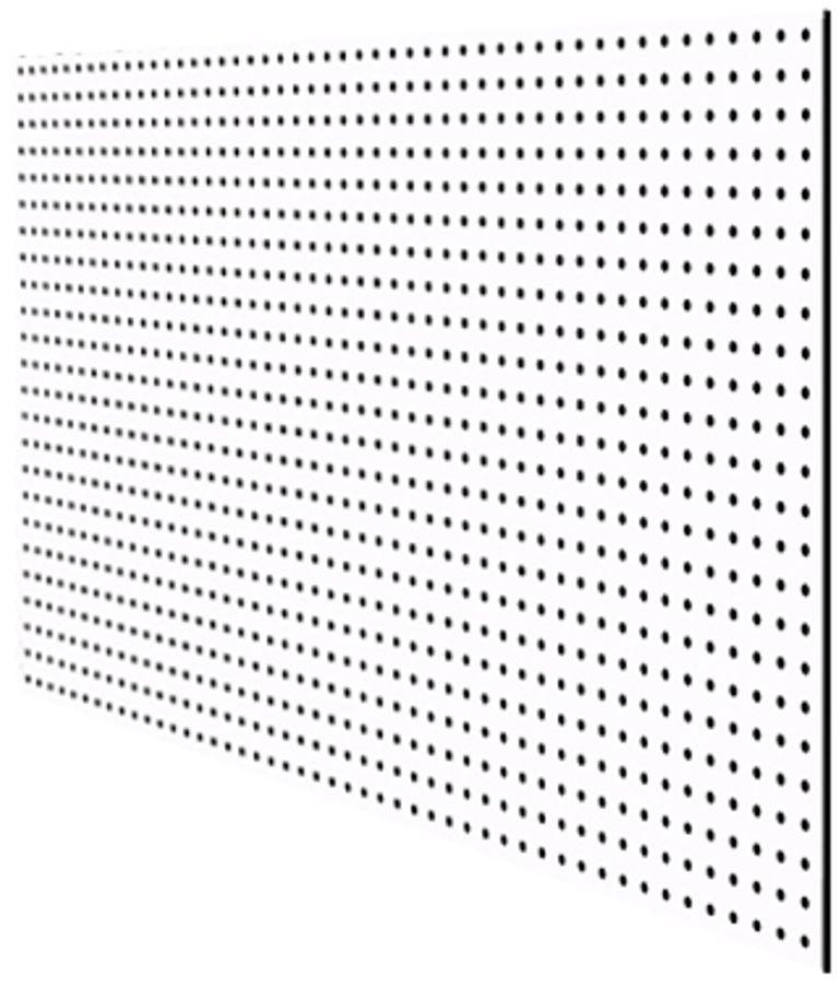 "Перфопанель ""MasterProf"", 120 х 59,5 х 0,5 см, цвет: белый ТД.010053"