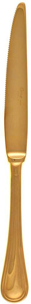 Нож столовый Sambonet Impero. РП-IGX10115610Итальянская компания «Sambonet» с 1856 года занимается производством посуды, столовых приборов и сервировки стола для европейских королевских представительств.Бренд «Sambonet» успешно продвигает свою продукцию на международном рынке, произведенным в традиционном классическом стиле, в духе современности, а также с «нотками» востока.Продукция бренда производится только из н стали высочайшего качества с последующим покрытием серебром по оригинальной запатентованной технологии компании, что делает продукцию невероятно гладкой и блестящей. Изделия марки «Sambonet» имеют идеальную обтекаемую форму, с минимальным количеством декора и дополнений, что делает ее практичной и удобной в использовании. Вилки, ложки, ножи, ведерки для льда, посуда для холодных и горячих напитков, вазы, чайники, соусники, предметы сервировки стола известного бренда «Sambonet , завоевавшие свою популярность в мире посуды, представлены в каталоге нашего интернет-магазина «ViPosuda». Зайдите к нам на страничку, полюбуйтесь блеском коллекции и приобретите для своего обихода великолепную продукцию мирового бренда.