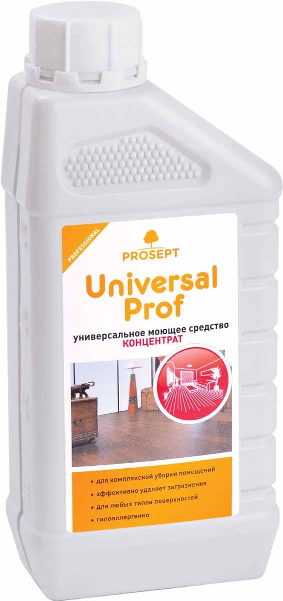 Средство моющее Prosept Universal Prof, универсальное, концентрат, 1 л104-1Моющее низкопенное средство для комплексной уборки помещений - мытья полов, стен, лестниц, дверей, корпусной мебели, бытовой и офисной техники и т.д. Эффективно удаляет основные виды загрязнений со всех типов твердых поверхностей, оставляя их безупречно чистыми. Справляется с большинством типов загрязнений на разных поверхностях.