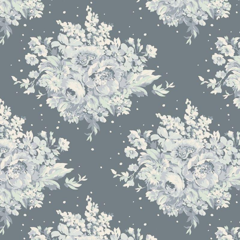 Ткань Tilda Summer Floral, цвет: серый, белый, 50 х 55 см. 210480891Z-0307Ткань Tilda Summer Floral, выполненная из натурального хлопка, используется для творческих работ. Хлопковые ткани не выцветают, не линяют, не деформируются при стирке и в процессе носки готовых изделий, сшитых из этих тканей.Ткань Tilda Summer Floral можно без опасений использовать в производстве одежды для самых маленьких детей, в производстве игрушек. Также ткань подойдет для декора и оформления творческих работ в различных техниках. Ширина: 55 см. Длина: 50 см.