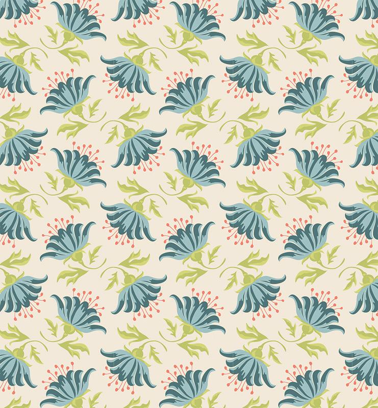 Ткань Tilda Painted Lily, цвет: бежевый, голубой, зеленый, 50 х 55 см. 210480895KT002AТкань Tilda Painted Lily, выполненная из натурального хлопка, используется для творческих работ. Хлопковые ткани не выцветают, не линяют, не деформируются при стирке и в процессе носки готовых изделий, сшитых из этих тканей.Ткань Tilda Painted Lily можно без опасений использовать в производстве одежды для самых маленьких детей, в производстве игрушек. Также ткань подойдет для декора и оформления творческих работ в различных техниках. Ширина: 55 см. Длина: 50 см.