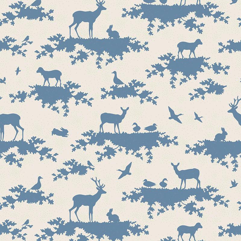 Ткань Tilda Forest, 1 х 1,1 м. 210484044210484044Все ткани из одной коллекции прекрасно подходят друг другу и, конечно, идеальны для шитья кукол Тильда и всевозможных зверушек в ее стиле. 100% хлопок дает усадку примерно на 6-7%.