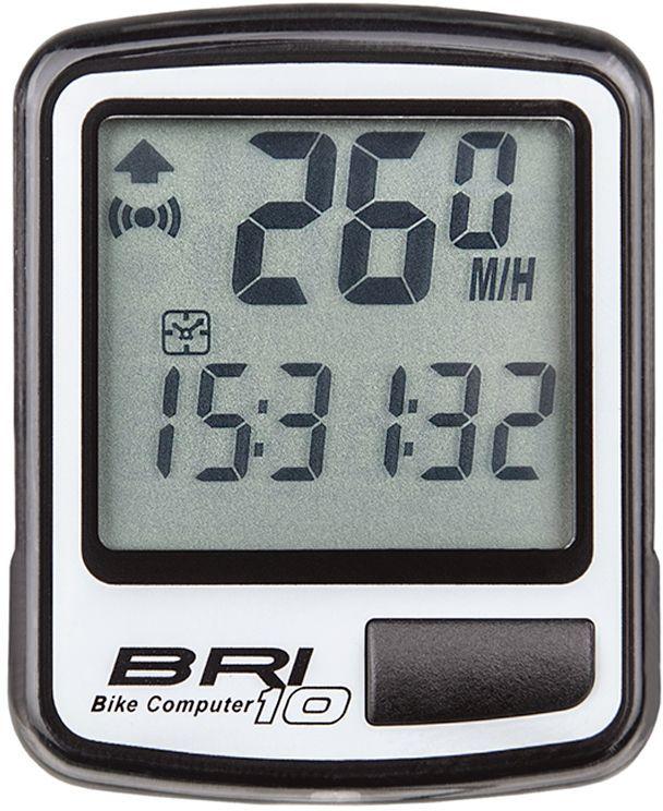 Велокомпьютер Echowell BRI-10, 10 функций, цвет: серыйBRI-10_серыйПроводной велокомпьютер Echowell BRI-10 с десятью функциями в стильном корпусе предназначен для использования при занятиях велоспортом, велотуризмом и просто катании на велосипеде. Это удобный и простой в использовании электронный прибор, предоставляющий велосипедисту всю необходимую информацию о поездке. Имеет отличную водо и пылезащиту. Велокомпьютер состоит из двух частей соединенных проводом - дисплея, внешне похожего на электронные часы и датчика скорости. Дисплей крепится на руле с возможностью мгновенно отсоединить его, когда нет желания оставлять на велосипеде без присмотра или под дождем. Магнитный датчик скорости (геркон) крепится рядом с колесом. Велокомпьютер определяет скорость движения с точностью до десятых долей, дистанцию - с точностью до 10 метров. На дисплее функции поочередно сменяют друг друга. Все операции и настройки выполняются одной кнопкой.Функции: - Скорость текущая - Скорость средняя - Скорость максимальная -...