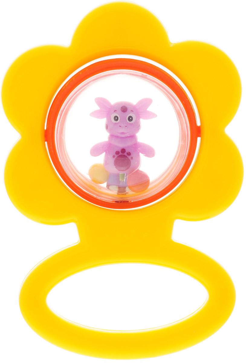 Умка Погремушка Цветочек цвет желтый умка фотоаппарат чебурашки умка