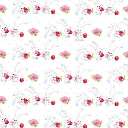 Упаковочная бумага ЗайкаМи Hobby&You Вишенка, 674 х 974 ммHY00805