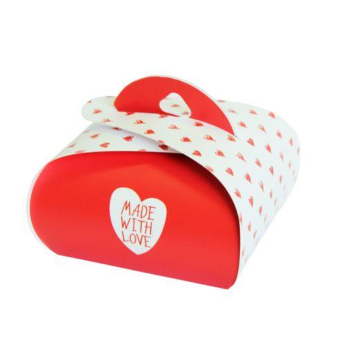 Подарочная коробочка Бонбоньерка Hobby&You Made With Love, 2 штHY00915