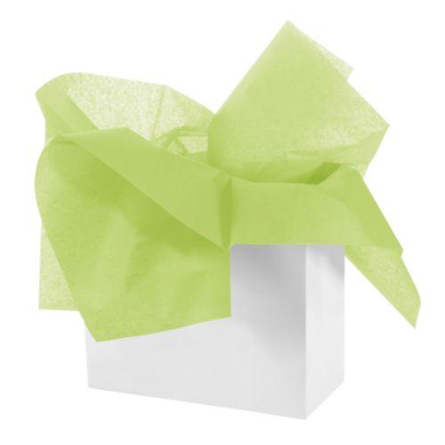 Бумага тишью 50 х 70см, цвет: зеленый, 3 штHY06026
