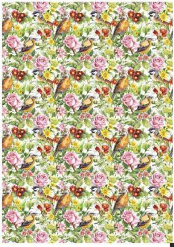 Декупажная карта Hobby&You Птички в саду (фон), 21 х 30 смHY501276