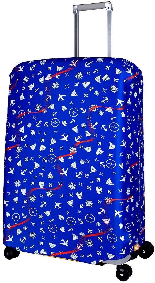 Чехол для чемодана Routemark Traveler, размер L/XL (75-85 см)Trav-L/XLДля больших чемоданов, высотой от 75 до 85 см (29-33 inch) (мерить от пола). Плотность ткани - 240 г/кв.м, упрочнённые швы, 2 потайные молнии для боковых ручек с двух сторон. Внизу чехла - молния трактор, дополнительная резинка с фастексом для лучшей усадки. Стойкая сублимационная печать.