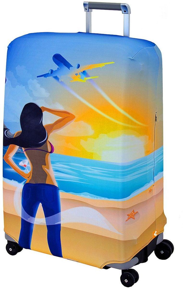 Чехол для чемодана Routemark Hellow Yellow, размер L/XL (75-85 см)Hell-L/XLДля больших чемоданов, высотой от 75 до 85 см (29-33 inch) (мерить от пола). Плотность ткани - 240 г/кв.м, упрочнённые швы, 2 потайные молнии для боковых ручек с двух сторон. Внизу чехла - молния трактор, дополнительная резинка с фастексом для лучшей усадки. Стойкая сублимационная печать.