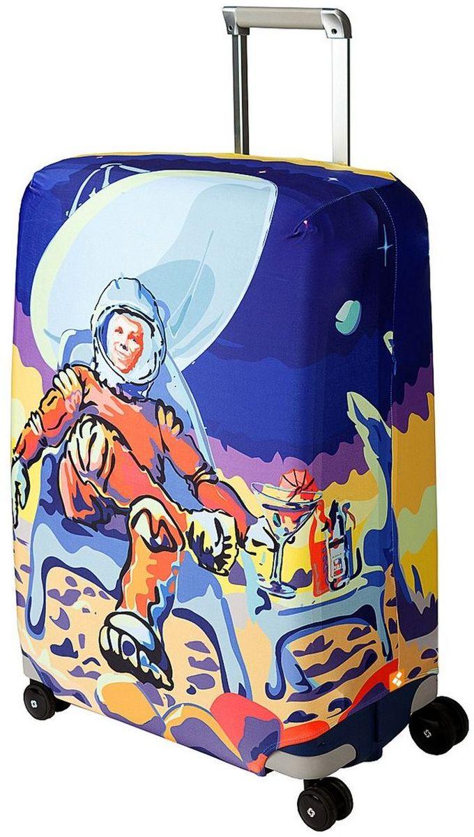Чехол для чемодана Routemark Mars Beach Club, размер L/XL (75-85 см)Mars-L/XLДля больших чемоданов, высотой от 75 до 85 см (29-33 inch) (мерить от пола). Плотность ткани - 240 г/кв.м, упрочнённые швы, 2 потайные молнии для боковых ручек с двух сторон. Внизу чехла - молния трактор, дополнительная резинка с фастексом для лучшей усадки. Стойкая сублимационная печать.