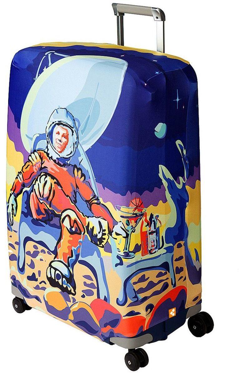 "Чехол для чемодана Routemark ""Mars Beach Club"", размер M/L (65-74 см) Mars-M/L"