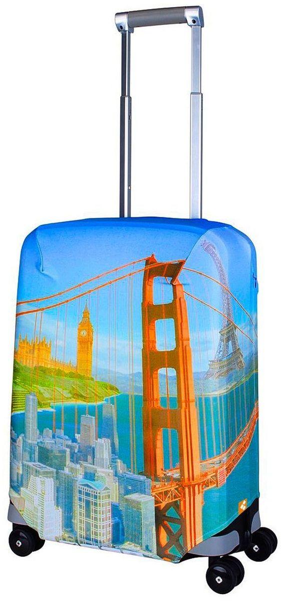 Чехол для чемодана Routemark Citizen, размер S (50-55 см)Cit-SДля чемоданов маленьких размеров, высотой от 50 до 55 см (19-21 inch) (мерить от пола). Плотность ткани - 240 г/кв.м, упрочнённые швы, 2 потайные молнии для боковых ручек с двух сторон. Внизу чехла - молния трактор, дополнительная резинка с фастексом для лучшей усадки. Стойкая сублимационная печать.