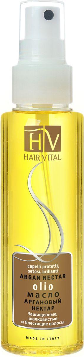 Hair Vital Масло Аргановый нектар, 100 млFS-00897• Способствует восстановлению структуры волос• Склеивает рассеченные кончики волос, препятствуют их дальнейшему расщеплению• Интенсивно увлажняет и питает• Придает волосам ослепительный блеск и жизненную силу• Не утяжеляет волосы Активные компоненты: аргановое масло, витамин Е, OG2