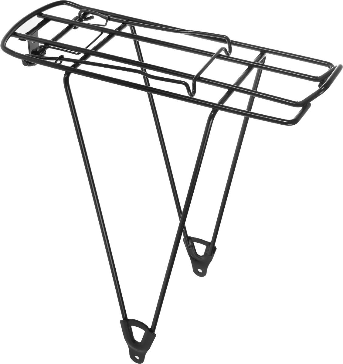 Багажник велосипедный Stern. CCAR-1NCCAR-1N.Велосипедный багажник Stern выполнен из высококачественного металла. Крепится изделие на колесо. Предназначен багажник для моделей с размером колес 26. В комплект входят крепления. Размер багажника: 35 х 13,5 х 39 см.
