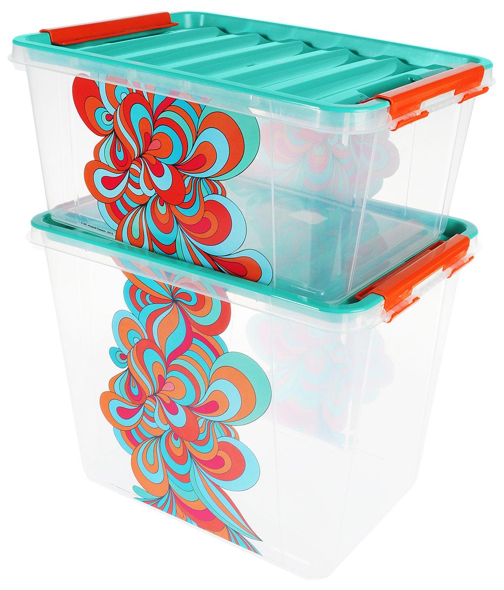 Набор контейнеров Полимербыт Домашний, 2 штSGHPBKP58Набор контейнеров Полимербыт Домашнийизготовлен из высококачественного прочного пластика, устойчивого к высоким температурам. Стенки контейнера прозрачные, что позволяет видеть содержимое. Цветная полупрозрачная крышка плотно закрывается. В набор входят 2 контейнера разного объема. Контейнеры идеально подходят для хранения различных вещей. Размеры большого контейнера: 39 х 28,5 х 31 см. Размер малого контейнера: 39 х 28,5 х 18 см. Объем контейнеров: 25 л; 15 л.