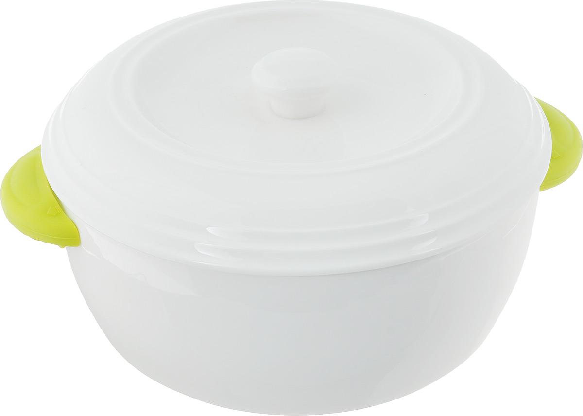 Кастрюля керамическая Oursson, с крышкой, 1,7 лCM000001328Кастрюля Oursson с крышкой выполнена из высококачественной керамики. Изделие покрыто уникальной гладкой эмалью, устойчивой к трещинам и царапинам. Непористая поверхность исключает образование бактерий. Кастрюля устойчива к резким перепадам температур. Ее можно поставить на мраморную столешницу или любую другую холодную поверхность. Кастрюля снабжена силиконовыми накладками на ручках, для дополнительного удобства в использовании.Изделие можно использовать в духовке и СВЧ, при -20°C и до +220°C. Запрещено готовить на открытом огне.Можно мыть в посудомоечной машине.Диаметр по верхнему краю: 25 см.Диаметр основания: 19,5 см. Высота стенок: 9 см.Толщина стенок: 0,5 мм.