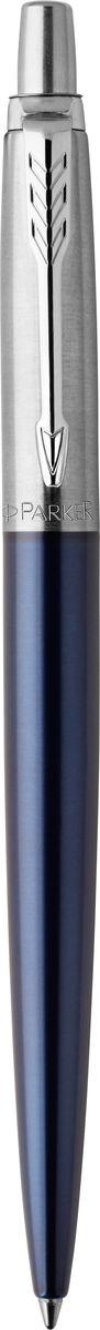 Parker Ручка шариковаяJotter Royal цвет синий610842Марка Parker гарантирует полную уверенность в превосходном качестве товара. Ручка Parker Jotter Royal будет не только долго служить, но и неизменно радовать удобством и легкостью письма, надежностью в эксплуатации и прекрасным эстетическим исполнением. Удивительное разнообразие моделей, а также великолепие и надежность отделки поверхностей позволяют удовлетворить даже самые взыскательные вкусы, обеспечивая при этом безукоризненность исполнения самых разных задач в процессе письма и соответствие различным стилям письма.