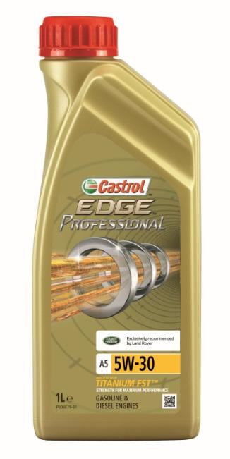 Моторное масло Castrol EdgeProfessional A3 0W-40, 1 л2706 (ПО)ОписаниеПолностью синтетическое моторное масло Castrol EDGE Professional произведено сиспользованием новейшей технологии TITANIUM FST™.Технология TITANIUM FST™ на физическом уровне меняет поведение масла Castrol EDGEPROFESSIONAL в условиях экстремальных нагрузок.Основой технологии TITANIUM FST™ являются полимерные металлоорганические соединения,содержащие титан. Таким образом, титан становится компонентом масла и работает в унисон стехнологией усиленной масляной плёнки Fluid Strength Technology (FST™), которая была внедренав 2011 году. Испытания подтвердили, что TITANIUM FST™ в 2 раза увеличивает прочностьмасляной плёнки, предотвращая её разрыв и снижая трение для максимальнойпроизводительности двигателя.Используя опыт сотрудничества с автопроизводителями, мы применили такую же технологию,которая ранее использовалась только при производстве масла для конвейерной заливки.Моторное масло Castrol EDGE Professional прошло многоуровневую микрофильтрацию. Контролькачества осуществляется с использованием новой технологии оптического измерения частицCastrol – Optical Particle Measurement System (OPMS).Castrol EDGE Professional - первое в мире масло, сертифицированное как CO2- нейтральное всоответствии с мировыми стандартами.ПрименениеCastrol EDGE Professional A3 0W-40 предназначено для бензиновых и дизельных двигателейавтомобилей, в которых производитель агрегата предписывает использовать моторные масла,соответствующие классу вязкости SAE 0W-40 и спецификациям ACEA A3/B3, A3/B4, API SN/CF илиболее ранним.Castrol EDGE Professional A3 0W-40 рекомендовано и одобрено ведущими производителямитехники (см. раздел спецификаций и руководство по эксплуатации автомобиля).ПреимуществаCastrol EDGE Professional A3 0W-40 обеспечивает надёжную и максимально эффективную работусовременных высокотехнологичных двигателей, созданных по новейшим инженернымразработкам, которые работают в условиях ужесточённых допусков производителей тех