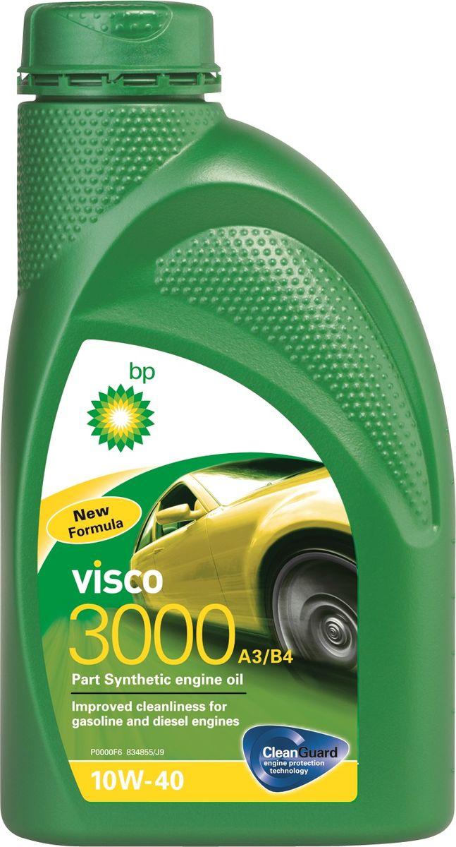 Моторное масло BP Visco 3000 A3/B4 10W-40 12, 1 л157F38Применение BP Visco 3000 A3/B4 10W-40 с технологией защиты двигателя Cleanguard – это высококачественное частично синтетическое моторное масло предназначенное для использования в автомобильных бензиновых и дизельных двигателях, где производитель рекомендует масла соответствующие стандартам API SL/CF или ACEA A3/B4, или более ранним спецификациям. BP Visco 3000 A3/B4 10W-40 также одобрено к применению в двигателях автомобилей Mercedes и VW, где требуются масла спецификаций MB-Approval 229.1 или VW 501 01 / 505 00. Основные преимущества BP Visco с технологией защиты двигателя Cleanguard: поддерживает чистоту Вашего двигателя длительное время. BP Visco 3000 A3/B4 10W-40 – высококачественное Частично синтетическое моторное масло со следующими преимуществами: - повышенная чистота деталей бензиновых и дизельных двигателей; - дополнительная защита от износа в нормальных условиях эксплуатации; - пониженный расход масла на угар. Спецификации ACEA A3/B4 API SL/CF VW 501 01 / 505 00...
