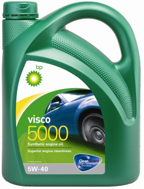 Моторное масло BP Visco 5000 5W-40 4, 4 л15806CОписание Моторные масла BP Visco CleanGuard™ препятствуют образованию отложений в двигателе, обеспечивая его бесперебойную работу. Система Clean Guard™ защищает двигатель и дольше поддерживает его в чистоте. Чистый двигатель прослужит дольше и будет работать более эффективно. В условиях повседневной эксплуатации автомобиля в двигателе скапливаются продукты сгорания. Если эти примеси своевременно не удалить, они будут образовывать отложения, которые зачастую становятся главной причиной снижения эффективности работы двигателя и его поломок. Моторные масла BP Visco CleanGuard™ содержат особые компоненты, которые предотвращают образование вредных отложений на стенках рабочих поверхностей двигателя. Применение Моторное масло BP Visco 5000 5W-40 предназначено для бензиновых и дизельных двигателей автомобилей, где производитель рекомендует смазочные материалы класса вязкости SAE 5W-40 спецификаций ACEA A3/B3, A3/B4, API SN/CF или более ранних. BP Visco 5000 5W-40 одобрено к применению...