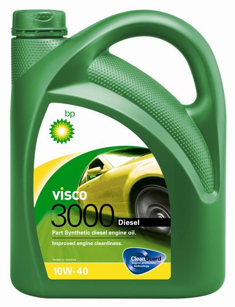 Моторное масло BP Visco 3000 Diesel 10W-40 4, 4 л15870DПрименение BP Visco 3000 Diesel 10W-40 с технологией защиты двигателя Cleanguard – это полусинтетическое моторное масло для использования в дизельных двигателях легковых автомобилей, где производитель рекомендует масла соответствующие стандартам API SL/CF или ACEA A3/B3, или более ранним спецификациям. Visco 3000 Diesel 10W-40 также одобрено к применению в двигателях автомобилей VW и Mercedes, где требуются масла спецификаций VW 505 00 или MB 229.1. Основные преимущества CleanGuardTM – это надежная защита Вашего двигателя. BP Visco. Чистый двигатель. Еще дольше. BP Visco 3000 Diesel 10W-40 – всесезонное полусинтетическое моторное масло с высокими эксплуатационными характеристиками. Обеспечиваются следующие преимущества: - Чистота двигателя способствует снижению износа и увеличению срока службы двигателя благодаря CleanGuardTM. - Дополнительная защита от износа в условиях интенсивной повседневной эксплуатации. - Пониженный расход масла на угар. Спецификации • ACEA A3/B3, A3/B4 • API...