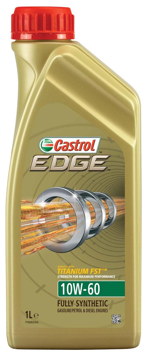 Масло моторное Castrol Edge, синтетические, 10W-60, 1 л15A001Полностью синтетическое моторное масло Castrol Edge произведено с использованием новейшей технологии Titanium FST, придающей масляной пленке дополнительную силу и прочность благодаря соединениям титана. Castrol Edge радикально меняет поведение масла в условиях экстремальных нагрузок, формируя дополнительный ударопоглощающий слой. Castrol Edge в 2 раза увеличивает прочность пленки, предотвращая ее разрыв и снижая трение для максимальной производительности двигателя. С Castrol Edge ваш автомобиль готов к любым испытаниям независимо от дорожных условий. Применение: Castrol Edge предназначено для двигателей суперкаров, включая Aston Martin V8 Vantage S, Ferrari F12 Berlinetta, Ferrari FF, в которых производитель рекомендует применять моторные масла, соответствующие классу вязкости SAE 10W-60 и отраслевому стандарту ACEA A3/B4. Castrol Edge одобрено для моторов суперкаров: Audi R8 V10 GT, Bugatti Chiron, Bugatti Veyron, требующих использования...