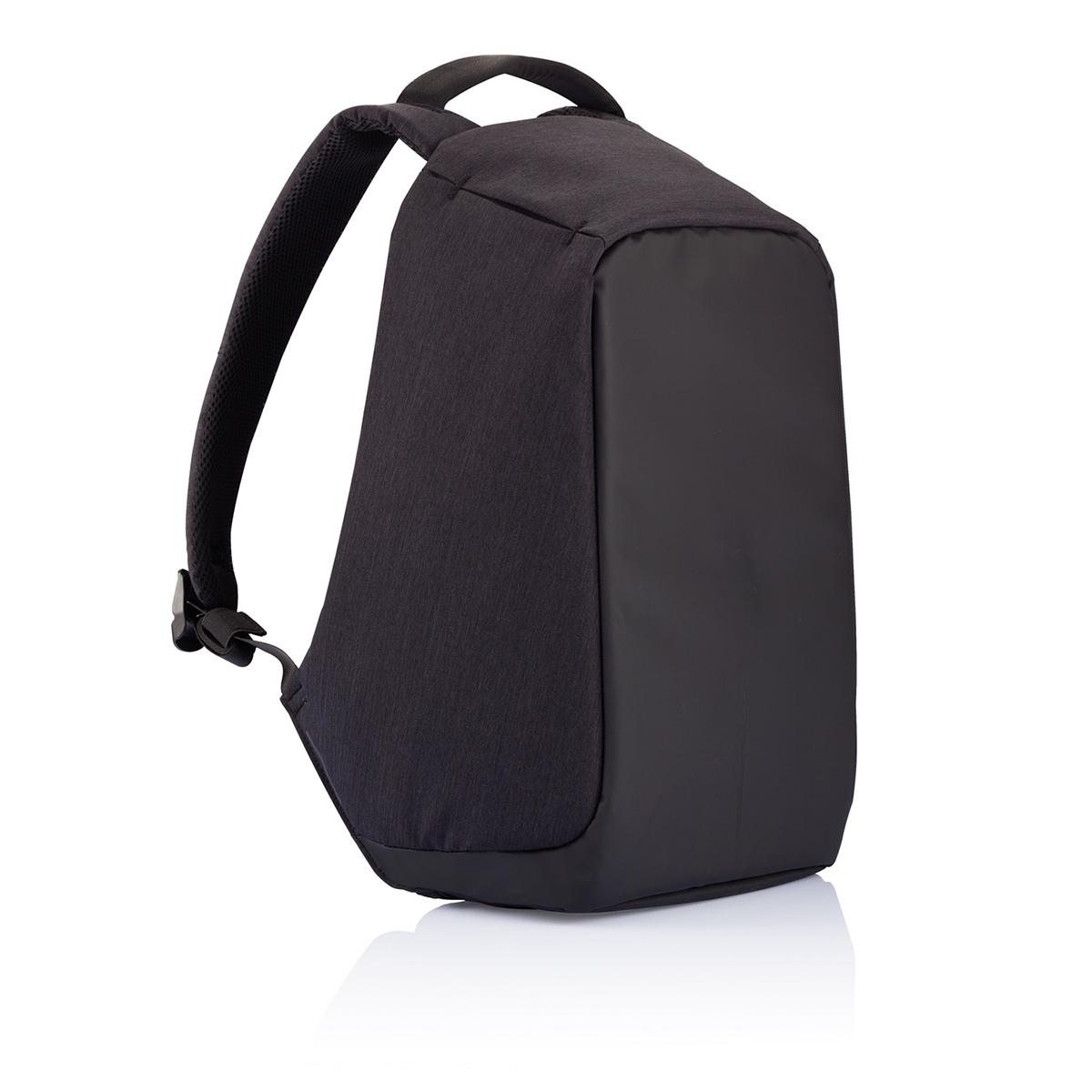 Рюкзак для ноутбука до 15 XD Design Bobby, цвет: черный. Р705.545Р705.545• Полная защита от карманников: не открыть, не порезать • USB-порт для зарядки гаджетов от спрятонного внутри рюкзака аккумулятора • Светоотражающие полосы • Супер-легкий: на 25% легче аналогов • Отделение для ноутбука до 15,6 • Отделение для планшета • Влагозащита • Лямка для крепления на чемодан