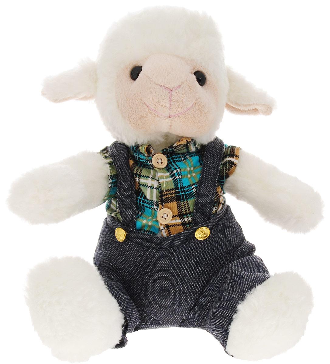 Magic Bear Toys Мягкая игрушка Овечка мальчик 23 см SP47048_мальчик