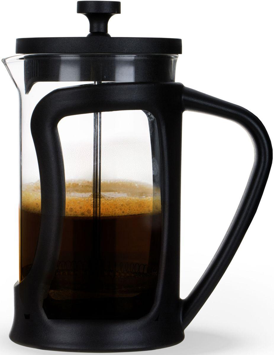 Заварочный чайник Fissman, с поршнем, 600 мл. 9066FP-9066.600