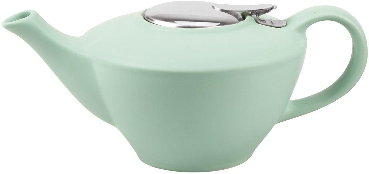 Заварочный чайник Fissman, с ситечком, цвет: аквамарин, 850 мл. 9323TP-9323.850
